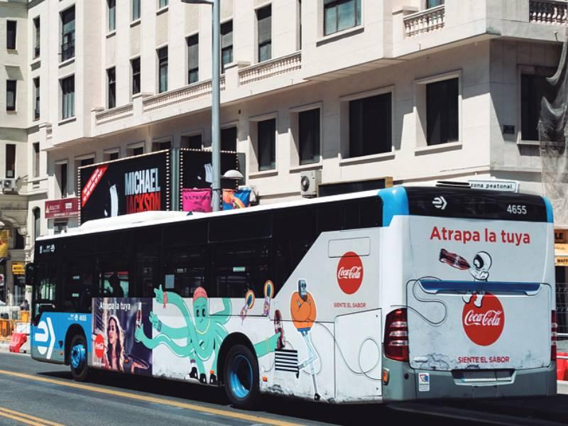 Exterion Media y CUENDE Infometrics presentan GEOBUS, un sistema pionero para el cálculo de audiencia de publicidad en autobuses.