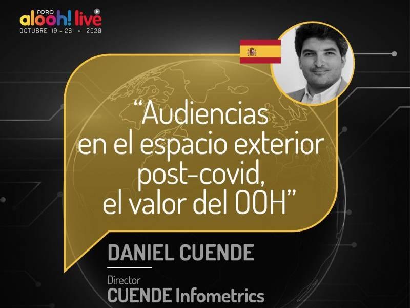 Conferencia de Daniel Cuende en el Foro ALOOH Live
