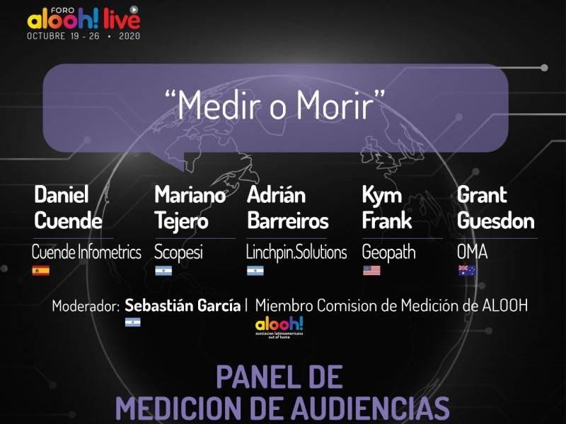 Daniel Cuende en el panel de medición de audiencias del Foro Alooh Live